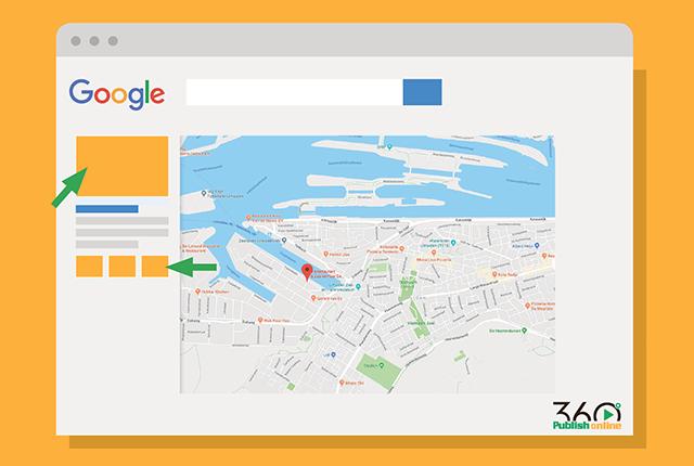 Uw eigen bedrijf bij google maps weergeven